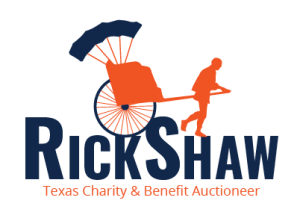 Charity Auctioneer Logo - Rick Shaw